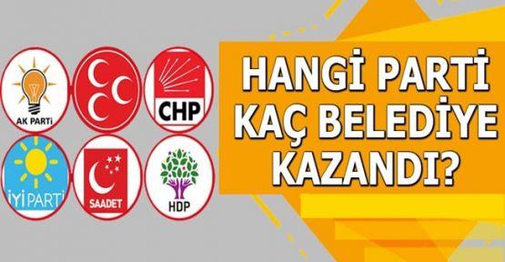 Partiler Hangi Belediyeleri Kazandı?
