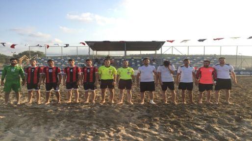 Plaj Futbolu'nda dörtlü final heyecanı