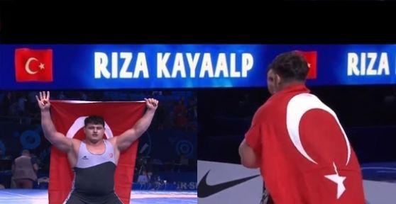 Rıza Kayaalp üst üste 4.cü kez Dünya şampiyonu oldu