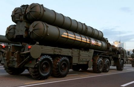 S-400'lerin malzemeleri Türkiye'ye geldi