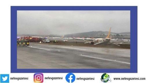 Sabiha Gökçen  uçuş trafiğine kapatıldı