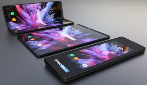 Samsung'un ilk katlanabilir akıllı telefonu piyasaya çıktı