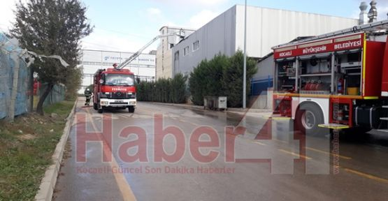 Sanayi'deki Kimya Fabrikasındaki Yangın Korkuttu!