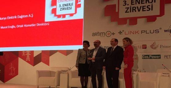 SEDAŞ Dijital Dönüşüm Ödülü Aldı