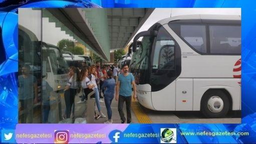 Şehirlerarası otobüs firmalarına Yüzde bine varan artış