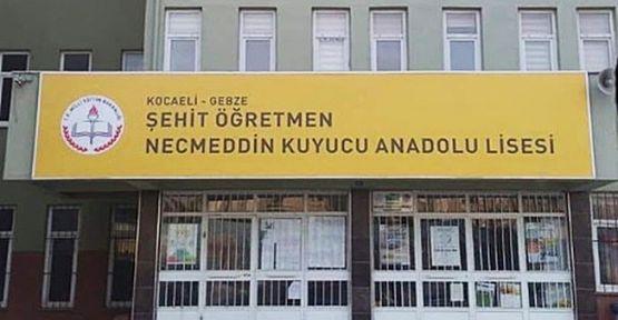 Şehit Öğretmen Kuyucu'nun Adı Okuluna Verildi!