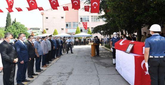 Şehit Polis törenle memleketine uğurlandı!