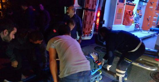 Servis aracı kaza yaptı: 6 yaralı