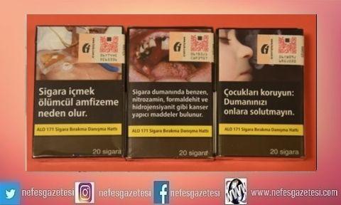 Sigara paketlerinde yeni dönem yarın başlıyor