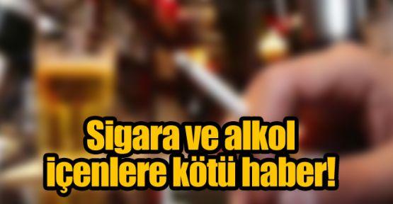 Sigara ve alkol ürünlerine  ÖTV  zammı geldİ