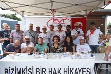 Gebze'de EYT liler bir araya geldi!
