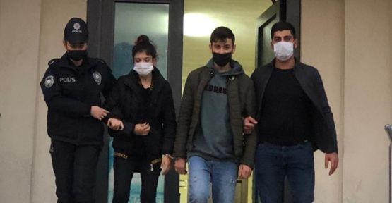 Taksiciye sahte para veren çift tutuklandı!
