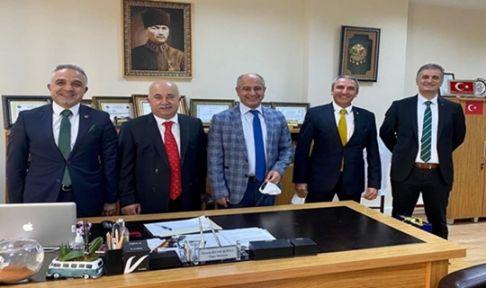 Tapu ve Kadastro Bölge Müdürü Suad Adil Çevik Gebze'ye geldi