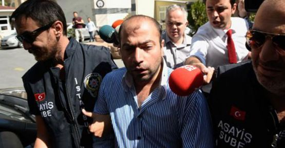 Tekmeci saldırgan gözaltına alındı