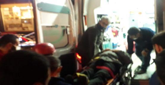 Tem otoyolunda zincirleme kaza : 7  yaralı