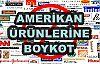 ABD Ürünlerine Boykot Çağrısı