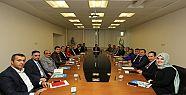 Başkan Demirci, Birim Müdürleriyle Yatırımları...