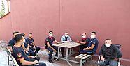 Başkan Şayir'den itfaiye personeline...