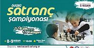 Büyükşehir'in ödüllü Satranç Şampiyonası...