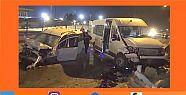Darıca'da meydana gelen kazada 11 kişi...