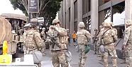 Gösteriler sonrası askerler sokağa indi!