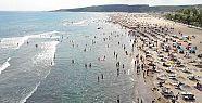 Kandıra sahillerinde denize girme yasağı...