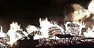 Palet İmalathanesindeki Yangın Korkuttu!
