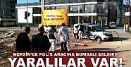 Polis aracına bombalı saldırı!.. Yaralılar...