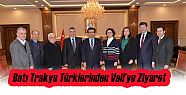 Sivil Toplum Kuruluşlarından Vali Güzeloğlu'na...