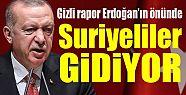 Suriyeliler gidiyor: Gizli rapor Erdoğan'ın...
