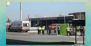 Tanker ile halk otobüsü çarpıştı:...