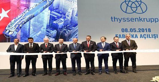 Thyssenkrupp Asansör  açıldı