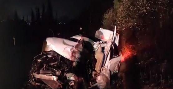 TIR ile çarpışan aracın sürücüsü öldü!