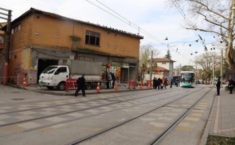 Tramvay güzergâhları daha güvenli hale geliyor