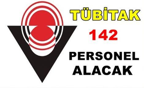 TÜBİTAK 142 Personel Alacak!