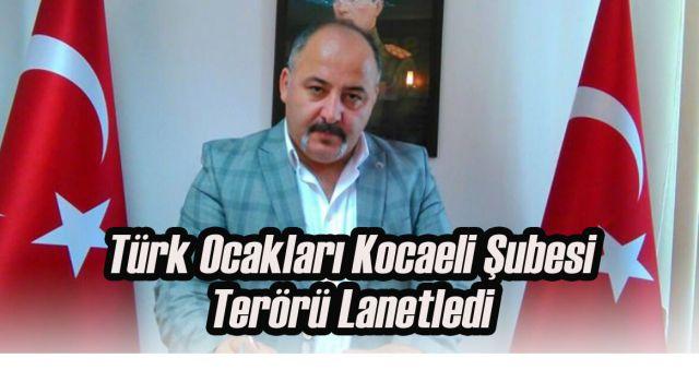 Türk Ocakları'ndan Teröre Tepki