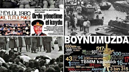 Türkiye'nin demokrasi tarihine geçen kara lekenin üzerinden tam 39 yıl geçti