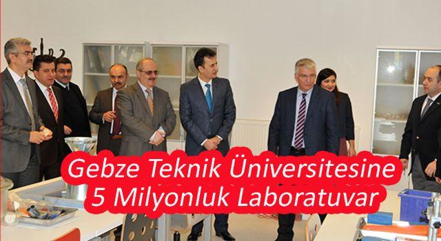 Üniversite'ye Milyonluk Yatırım