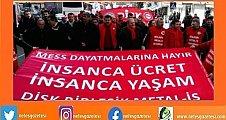 Yarın büyük eylem, 130 bin işçi grev yolunda!