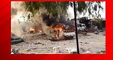 Türk müteahhitlere bombalı saldırı!
