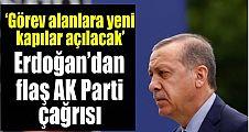 Erdoğan vatandaşları AK Parti'ye çağırdı