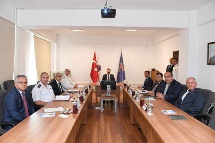 Vali Aksoy Başkanlığında Asayiş Koordinasyon Toplantısı Gerçekleştirildi