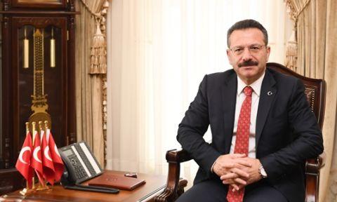 Vali Hüseyin Aksoy' un 10 Kasım  Mesajı