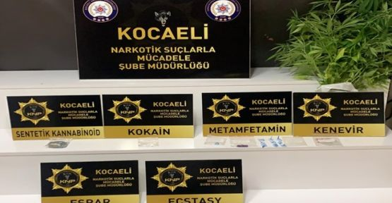 Yapılan operasyonda uyuşturucu ticareti yapan 7 kişi yakalandı