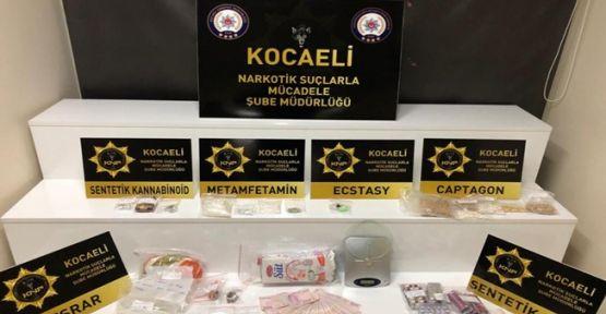 Yapılan uyuşturucu operasyonunda 9 kişi yakalandı