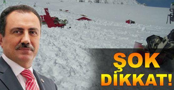 Yazıcıoğlu'nun helikopter kazasıyla ilgili şok iddia