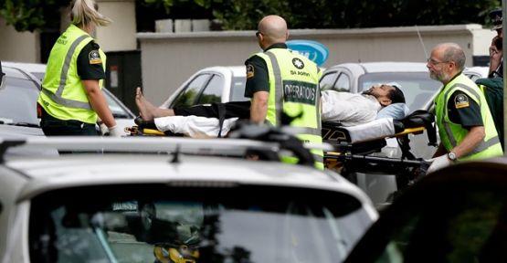 Yeni Zelanda'da iki camiye silahlı saldırı:40 kişi Şehit oldu
