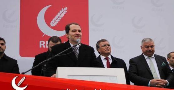Yeniden Refah Partisi Başkanı Fatih Erbakan Ankara'da Milletimizle Buluşuyor