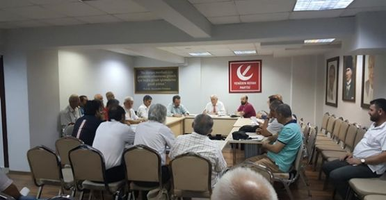 Yeniden refah partisi Kocaeli il teşkilatı yeni binasında