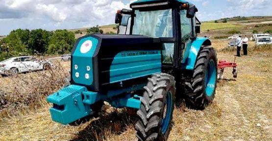 Yerli traktör Gebze'de üretilior!